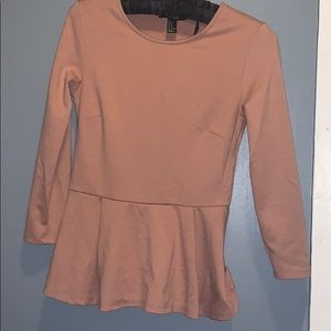 Forever21 pink long sleeve